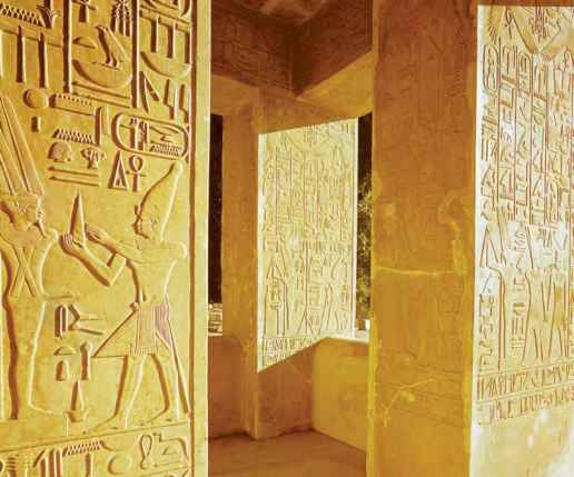 Egyptian Hieroglyphics Tombs
