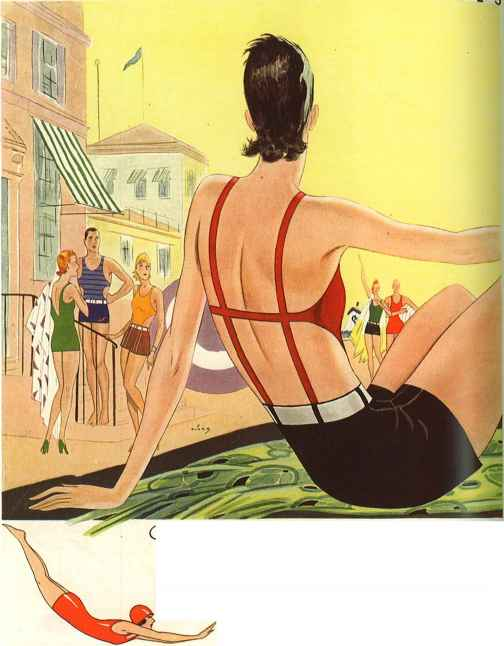 The Shouldaire Bathing Suit