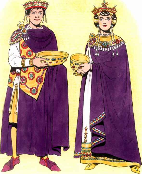 Byzantine Emperor And Empress