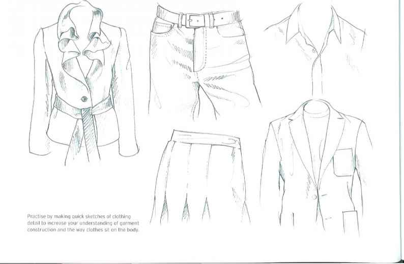 Fashion Illustration Sketches Men