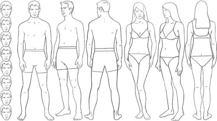 Body Proportions Theory And Practice Fashion Illustration Rh Martelnyc Com Angel Girl Outline Sketch Blank Templates