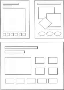 Website Moodboard Diagram