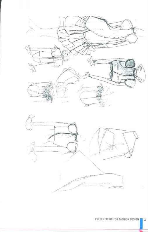Design Roughs And Range Building Fashion Illustration