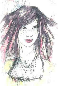Fashion Illustration Egyptian