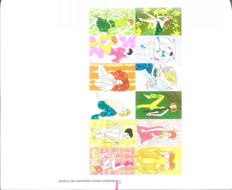 Japanese Fashion Illustration
