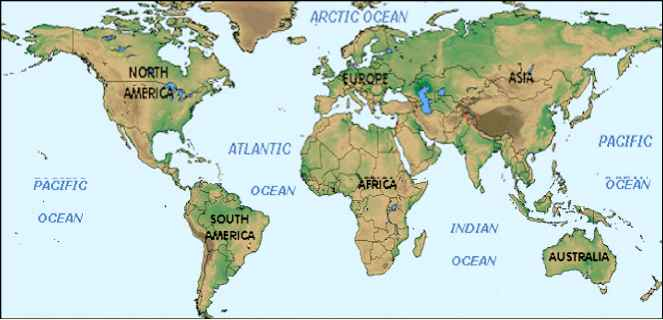Psicological World Map