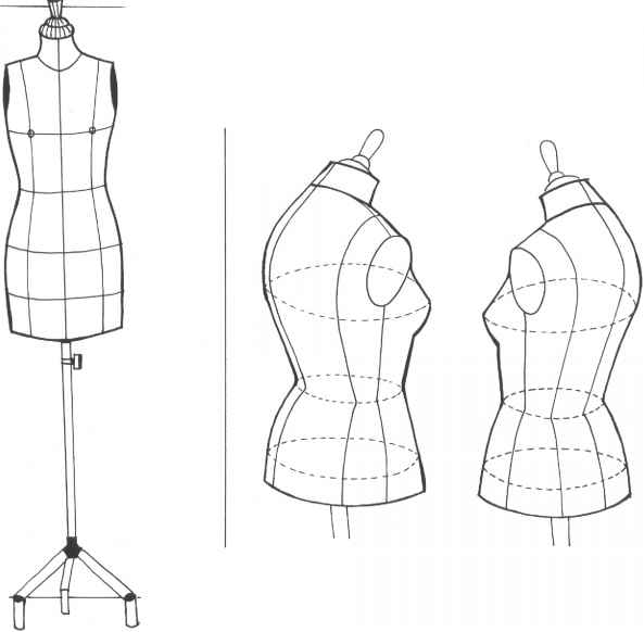 Fashion Production Drawing