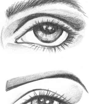 The Eyes Figure Drawing Martel Fashion