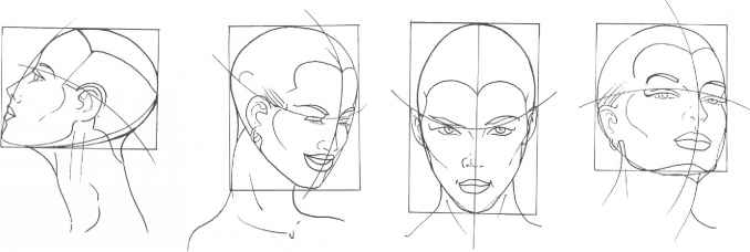 the mouth analysis and structure - figure drawing
