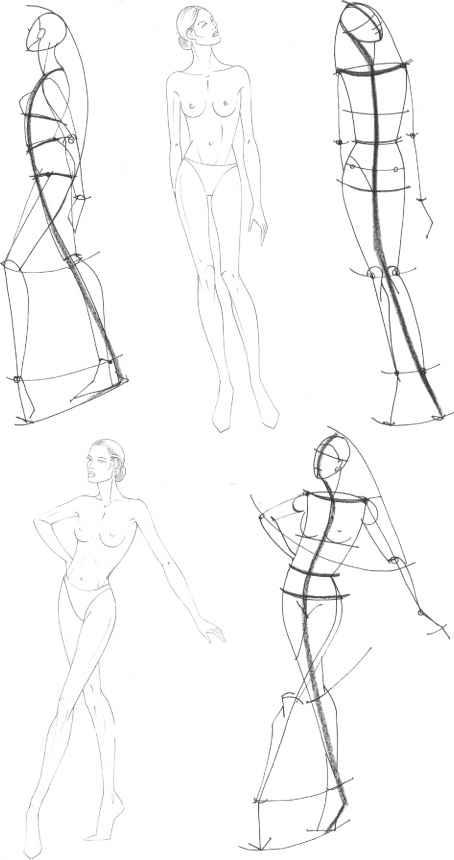 The Fashion Plate - Figure Drawing - Martel Fashion