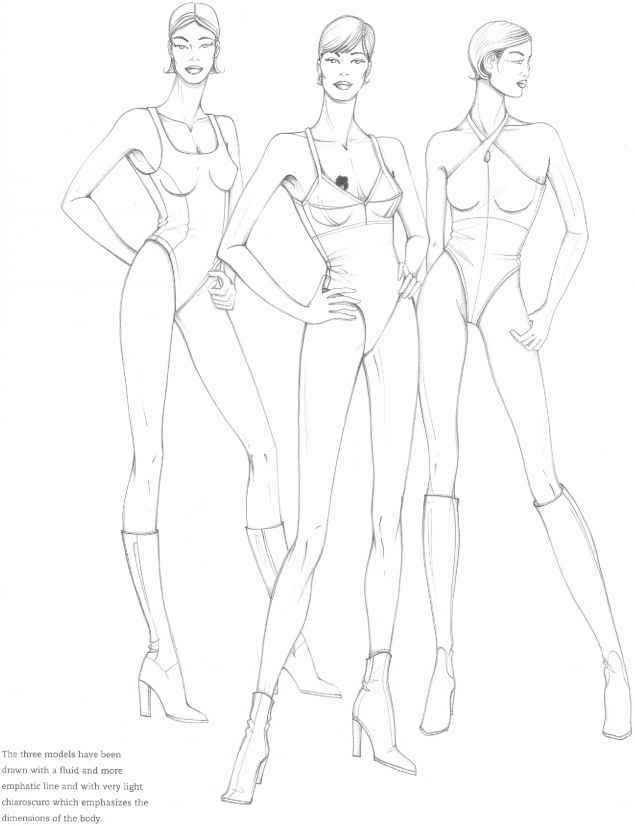 Focus Techniques Figure Drawing Martel Fashion