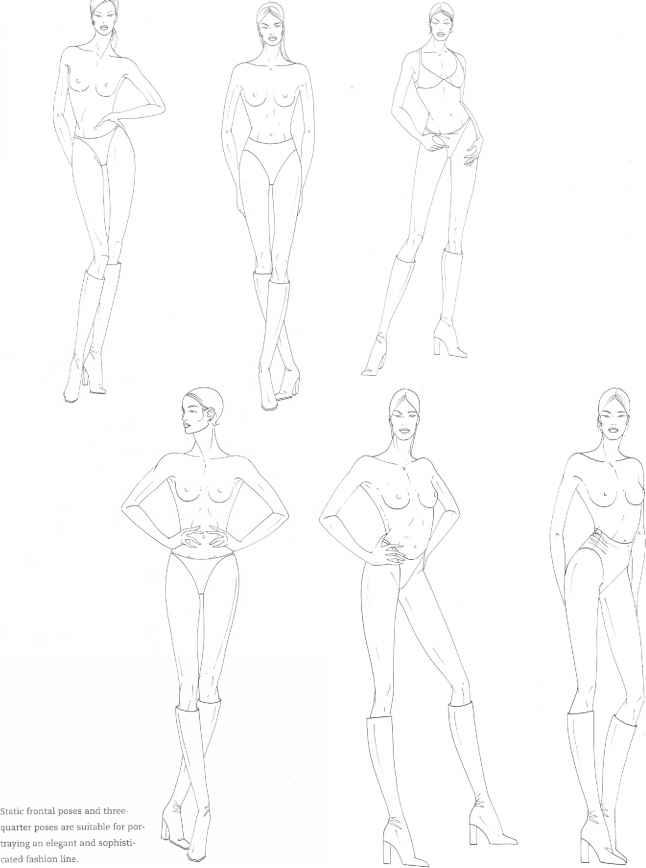 Focus Techniques - Figure Drawing - Martel Fashion