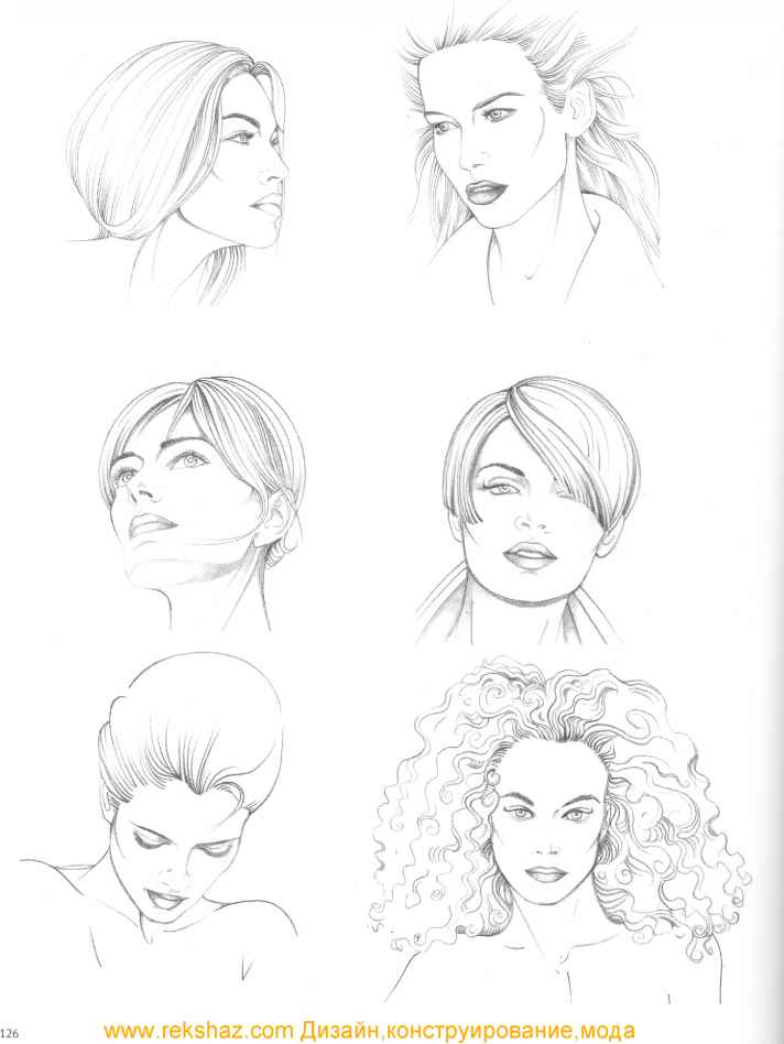 Super Types Of Hairstyle Figure Drawing Martel Fashion Short Hairstyles Gunalazisus