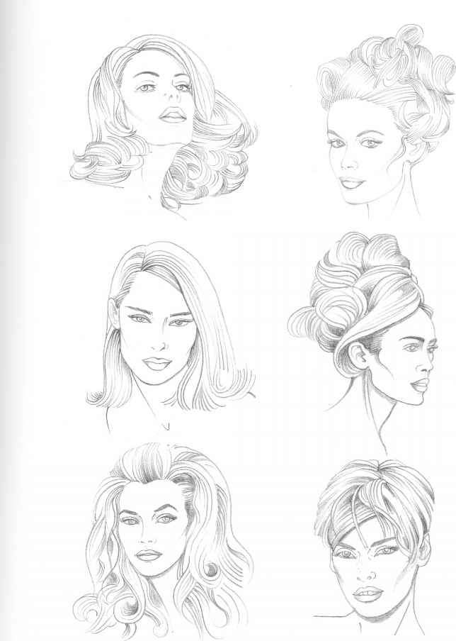 Drawing Hairstyles