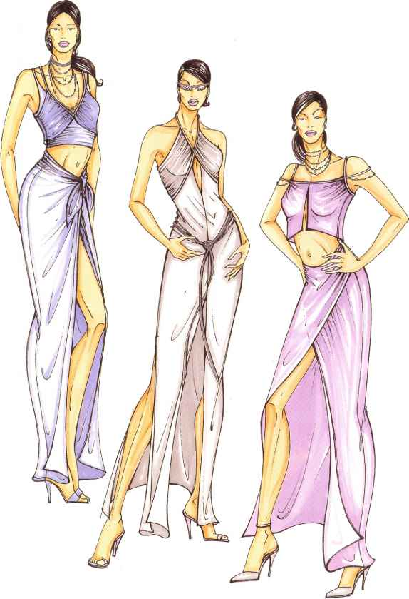 Fashion Design Figure
