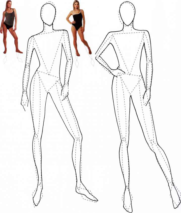 Free Fashion Templates for Fashion Drawing 4 - Fashion Era 7