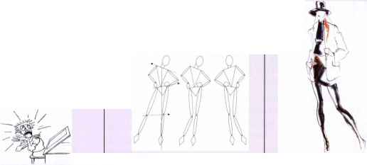 Fashion Illustration Drawing Templates