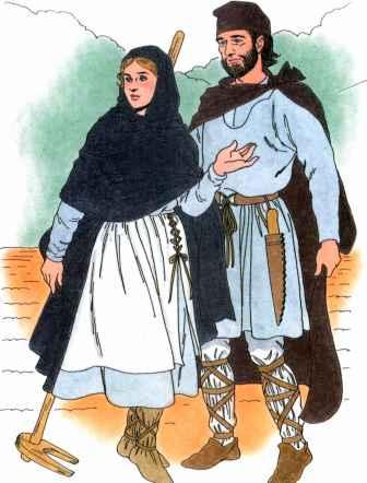 14th Century Fashion - Fourteenth Century - Martel Fashion