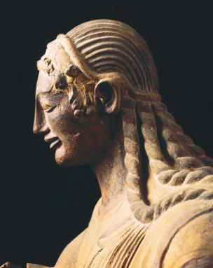 Ancient Statues Braids