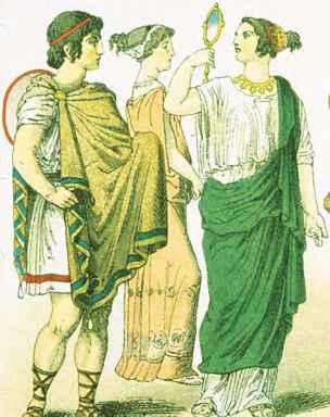chlamys history costume martel fashion