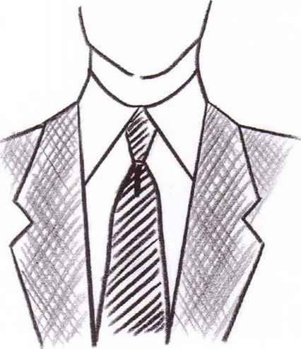 Sketches Man Tailored Collars