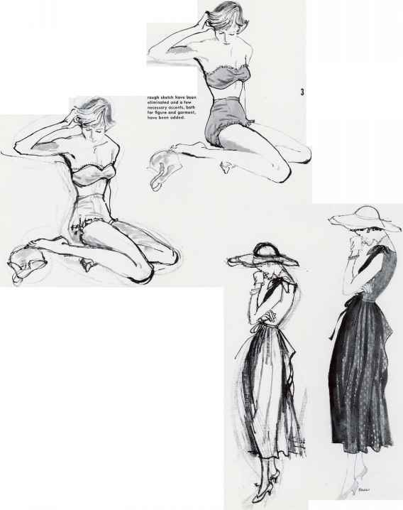 Position Fashion Drawing