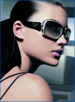 Armani Eyewear Advertising