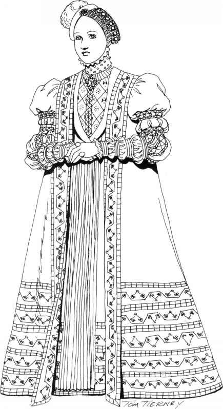 Noblewoman Gown