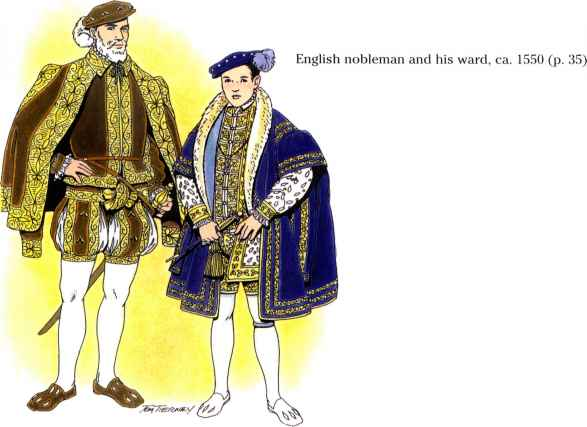1500s Clothing For Men