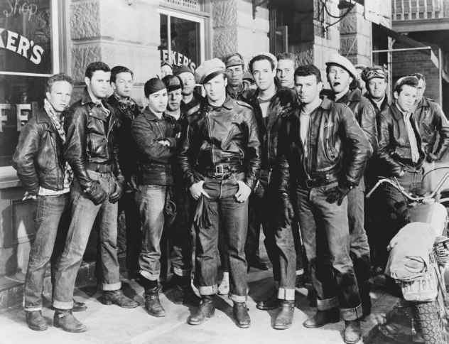 The Wild One Motorcycle Gang